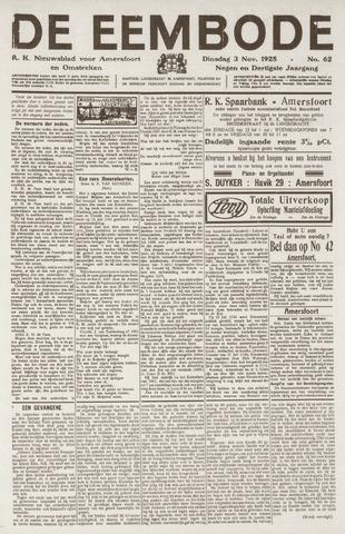De Eembode 1925-11-03