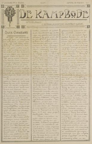 De Kampbode 1917-08-12