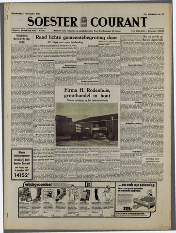 Soester Courant 1972-12-07