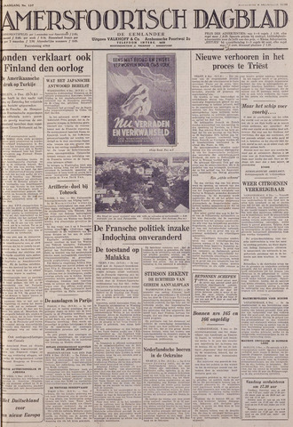Amersfoortsch Dagblad / De Eemlander 1941-12-06