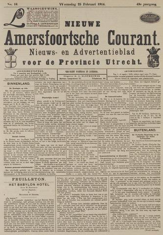 Nieuwe Amersfoortsche Courant 1914-02-25