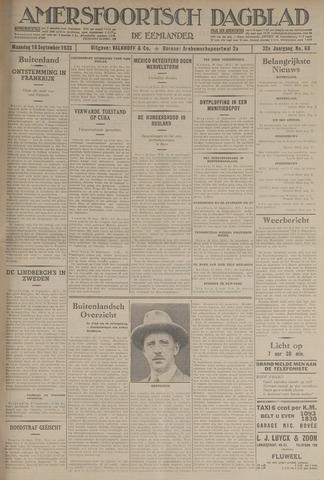 Amersfoortsch Dagblad / De Eemlander 1933-09-18