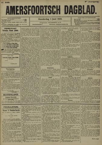 Amersfoortsch Dagblad 1909-06-03