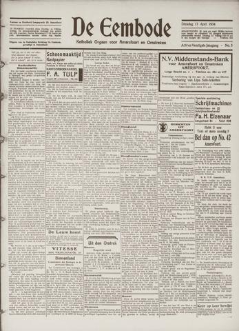 De Eembode 1934-04-17