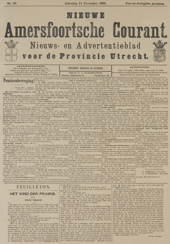 Nieuwe Amersfoortsche Courant 1905-11-11