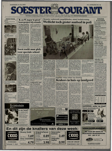 Soester Courant 2003-07-16