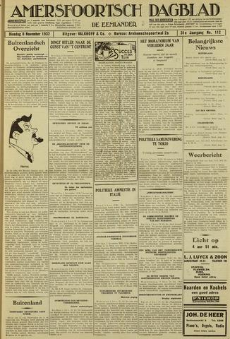 Amersfoortsch Dagblad / De Eemlander 1932-11-08