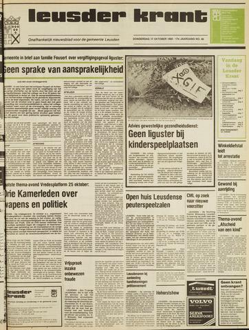 Leusder Krant 1985-10-17