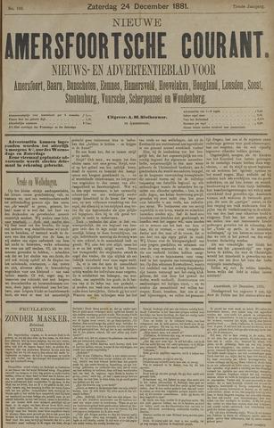 Nieuwe Amersfoortsche Courant 1881-12-24