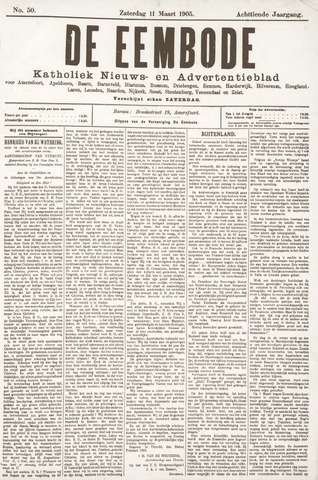 De Eembode 1905-03-11
