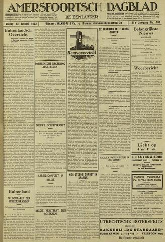 Amersfoortsch Dagblad / De Eemlander 1933-01-13