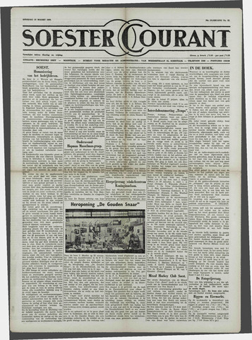 Soester Courant 1958-03-18