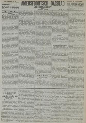 Amersfoortsch Dagblad / De Eemlander 1921-08-29