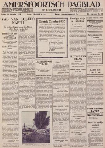 Amersfoortsch Dagblad / De Eemlander 1936-09-25