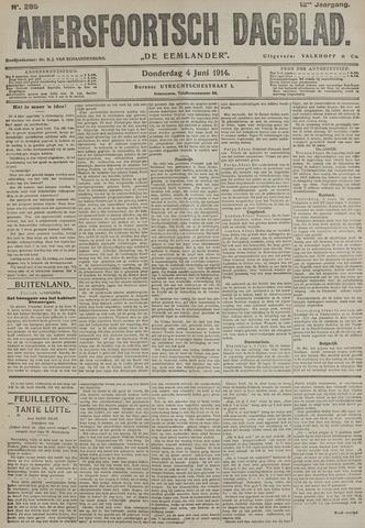 Amersfoortsch Dagblad / De Eemlander 1914-06-04