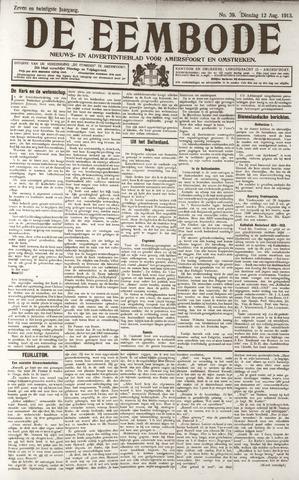 De Eembode 1913-08-12