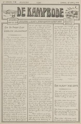 De Kampbode 1917-04-15