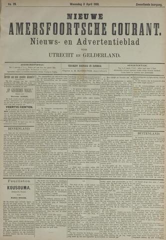 Nieuwe Amersfoortsche Courant 1888-04-11