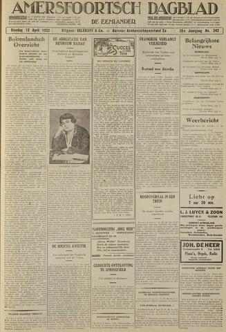 Amersfoortsch Dagblad / De Eemlander 1932-04-12