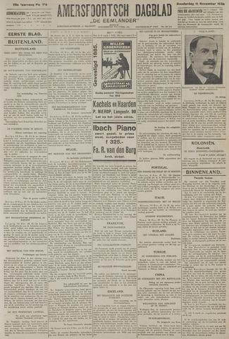 Amersfoortsch Dagblad / De Eemlander 1926-11-11