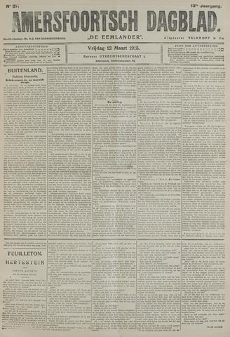 Amersfoortsch Dagblad / De Eemlander 1915-03-12