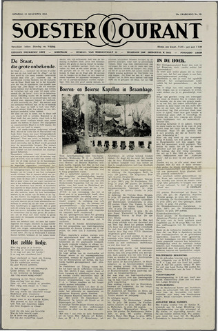 Soester Courant 1952-08-12