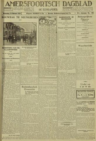 Amersfoortsch Dagblad / De Eemlander 1933-02-15