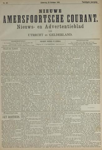 Nieuwe Amersfoortsche Courant 1891-10-31