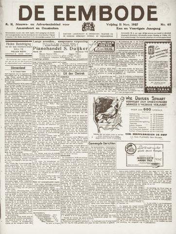 De Eembode 1927-11-11