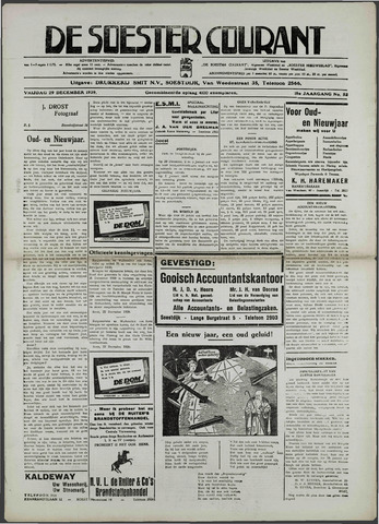Soester Courant 1939-12-29