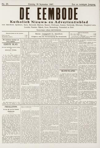 De Eembode 1907-09-28