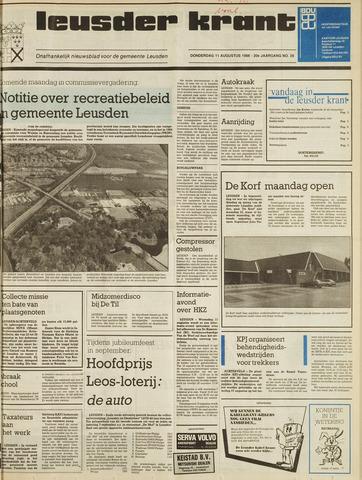 Leusder Krant 1988-08-11