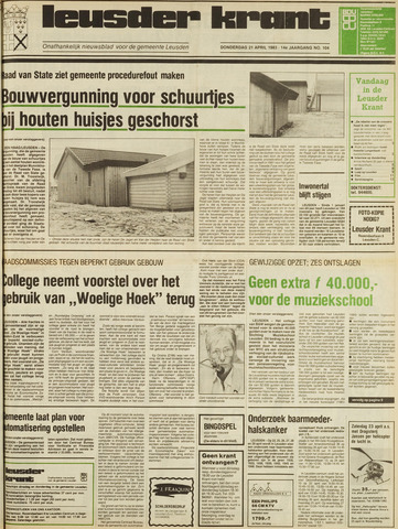 Leusder Krant 1983-04-21