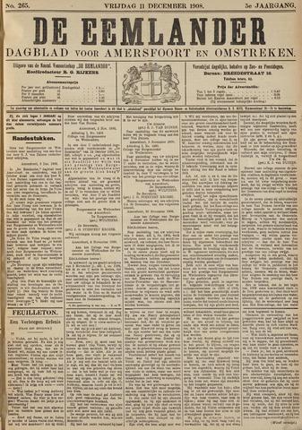De Eemlander 1908-12-11