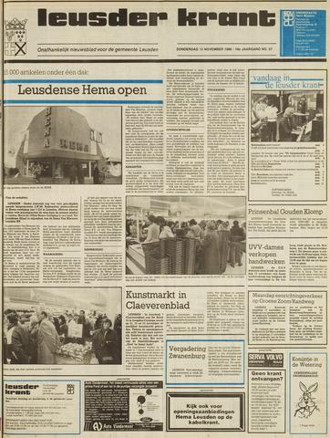 Leusder Krant 1986-11-13