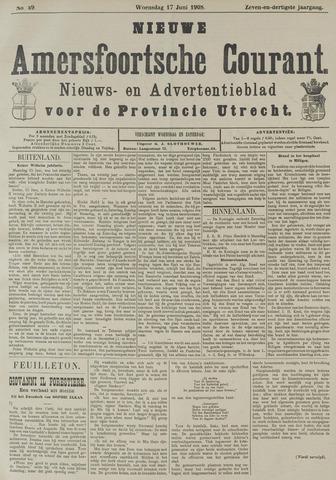 Nieuwe Amersfoortsche Courant 1908-06-17