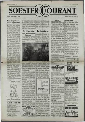 Soester Courant 1951-12-21