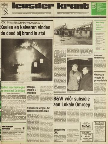 Leusder Krant 1983-12-20