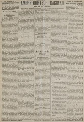 Amersfoortsch Dagblad / De Eemlander 1917-11-30