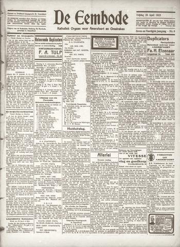 De Eembode 1933-04-28