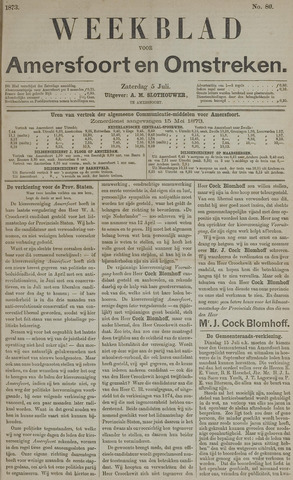 Weekblad voor Amersfoort en Omstreken 1873-07-05