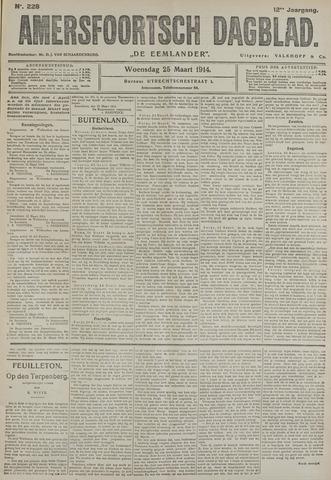 Amersfoortsch Dagblad / De Eemlander 1914-03-25