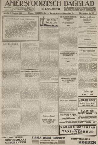 Amersfoortsch Dagblad / De Eemlander 1931-11-28