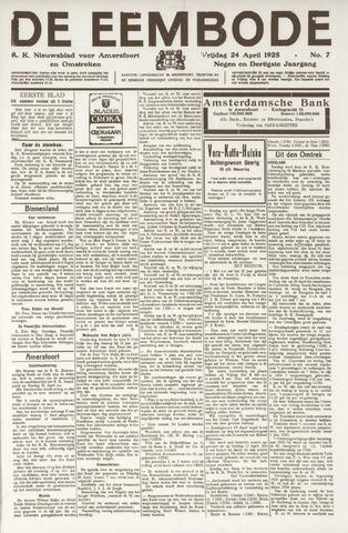 De Eembode 1925-04-24