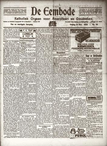 De Eembode 1930-11-21