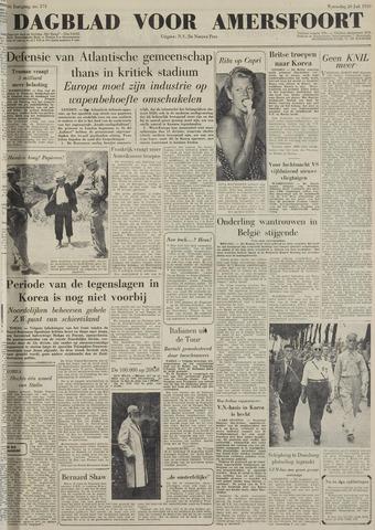 Dagblad voor Amersfoort 1950-07-26
