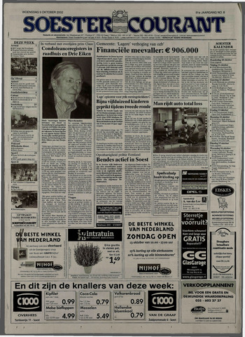 Soester Courant 2002-10-09