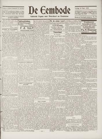 De Eembode 1933-09-22