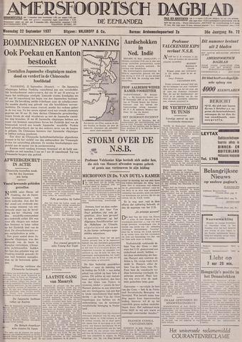 Amersfoortsch Dagblad / De Eemlander 1937-09-22