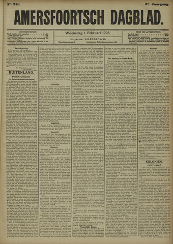 Amersfoortsch Dagblad 1905-02-01